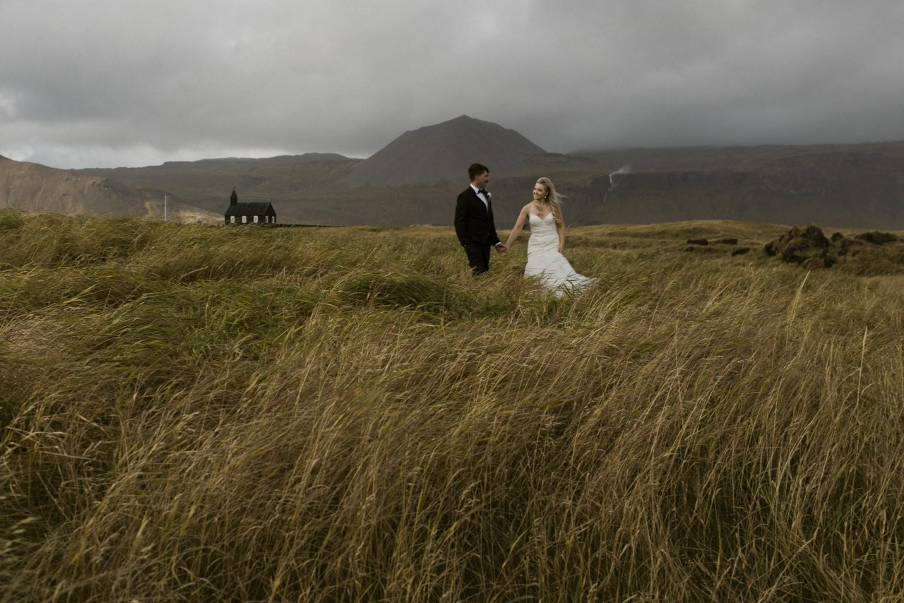 Búðir Iceland Elopement — Nicole & Ryan