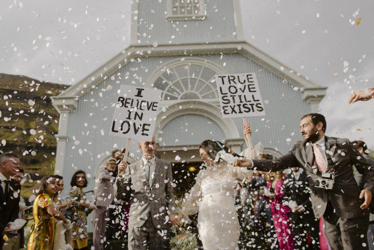 Rainbow Street Wedding in Iceland — Laura & Stu